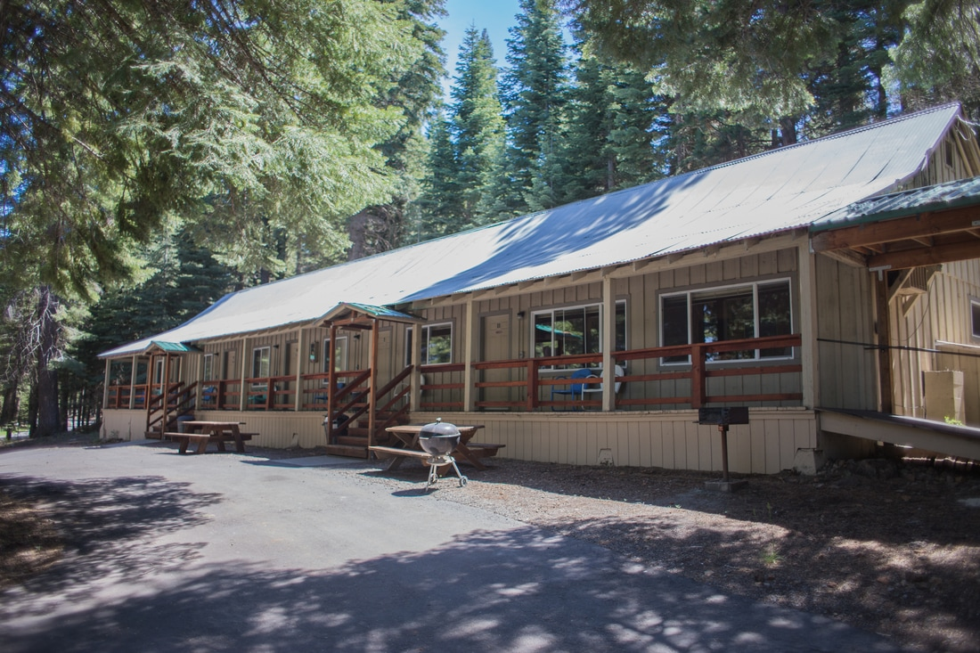 Double rooms at Lake Almanor