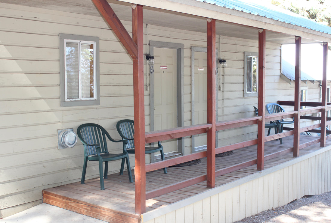 Single rooms at Lake Almanor